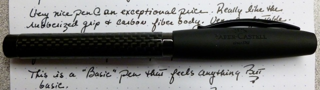 Faber-Castell Basic Black Carbon Fiber