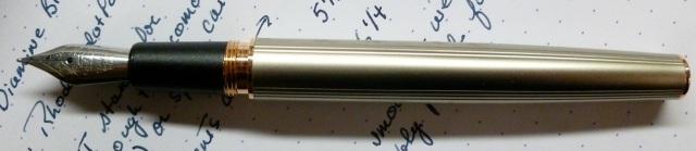 Uncapped pen