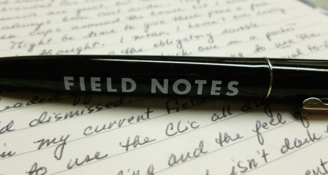 Field Notes branded Bic Clic