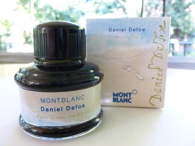 Montblanc Daniel Defoe ink